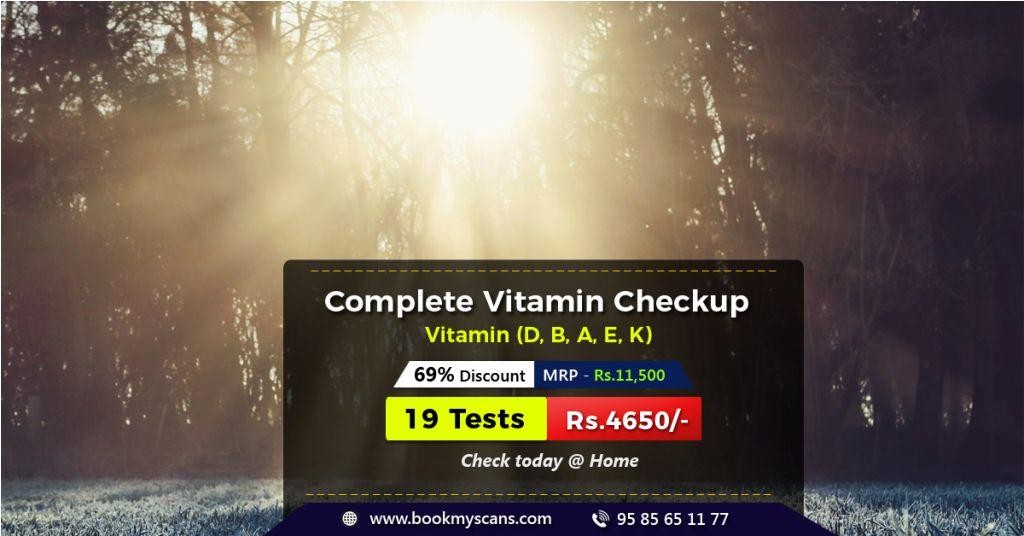 50% Discount - Vitamin D Blood Test cost - Lowest price - Book Now!