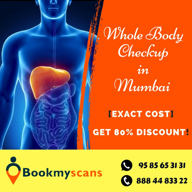 Whole Body Checkup in Mumbai [Exact Cost] - Get 80% Discount!