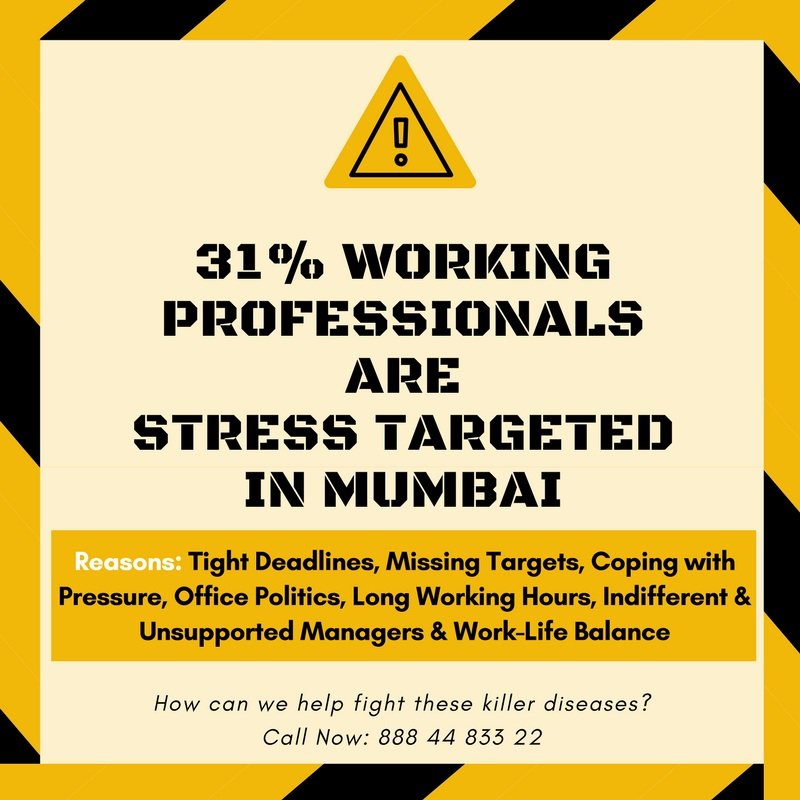 professionals stress targeted in Mumbai